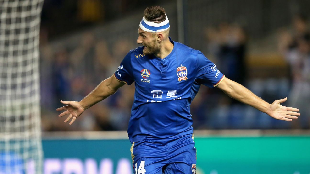 Newcastle Jets edge Central Coast as Kaine Sheppard caps dream week with winner