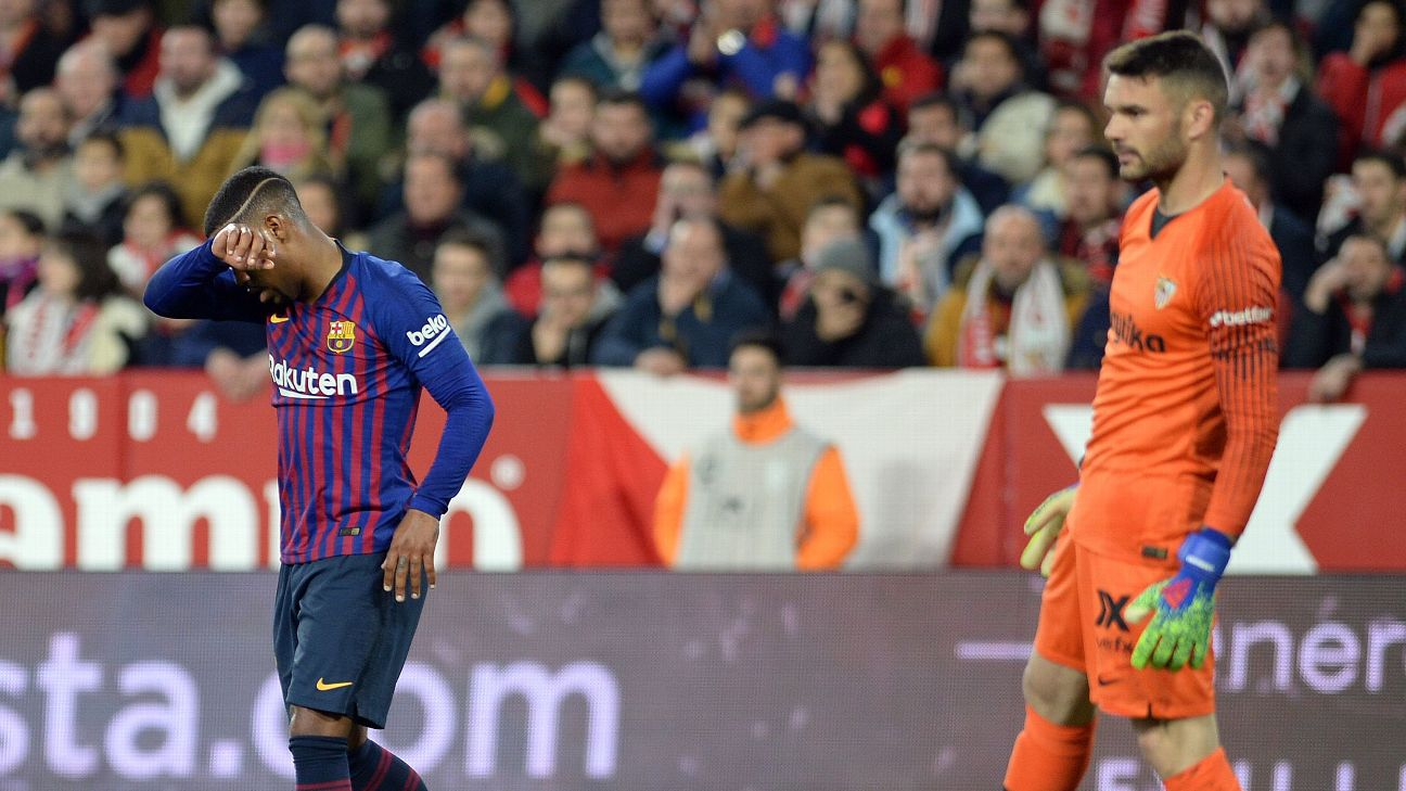 Malcom has just two goals and four shots on goal since arriving at Camp Nou from Bordeaux for £36.5 million.