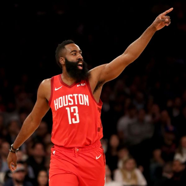 42c3e81673f Rockets  James Harden hits 30-point mark for 21st straight game ...