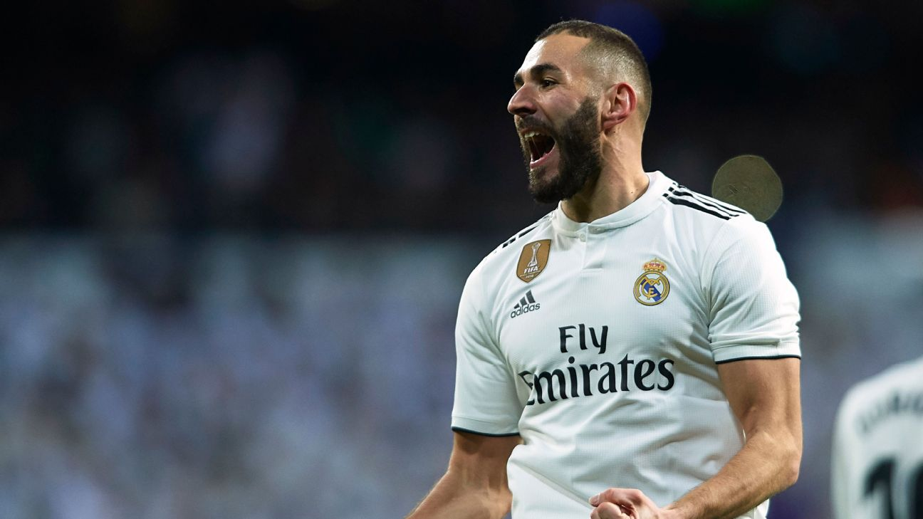 Karim Benzema has 12 goals this season, the same number he amassed all of last season for Real Madrid.