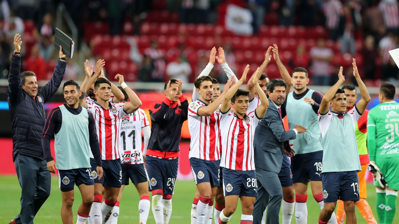 Chivas have been a major surprise, as the Guadalajara-based team are the only team on nine points in Liga MX.