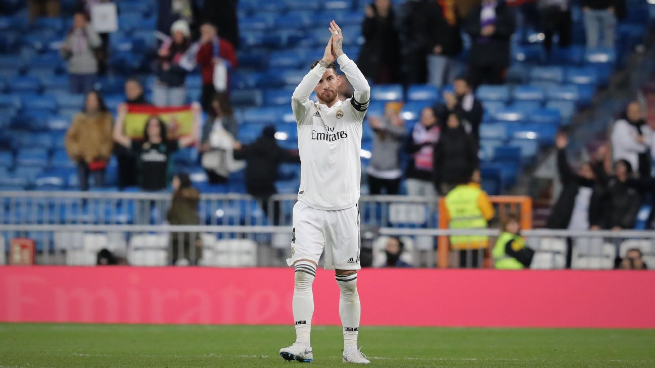 Real Madrid s Ramos could play up front if needed - Solari