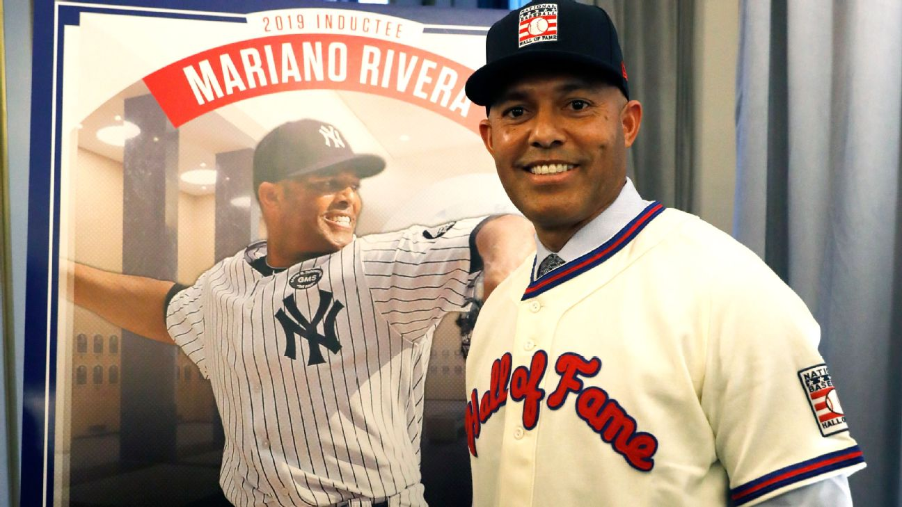 8d43b9818 Mariano Rivera visits Baseball Hall of Fame for first time