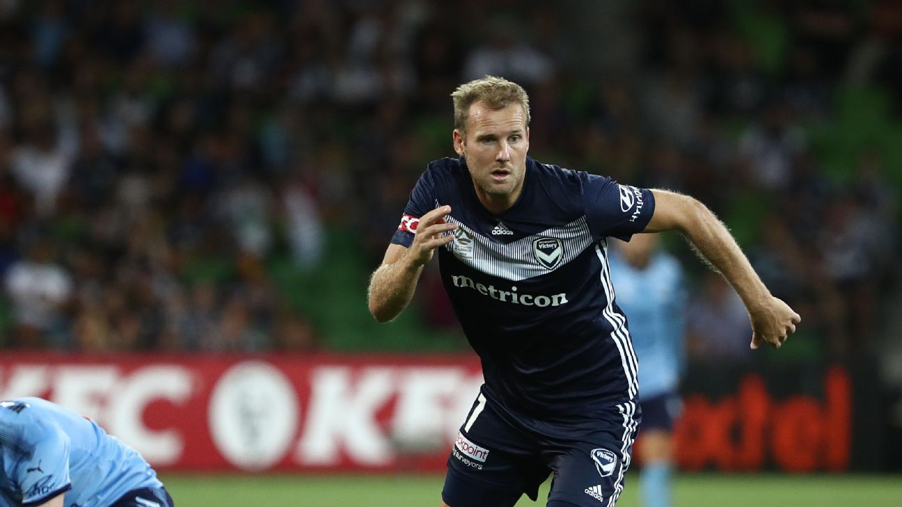 Ola Toivonen continues to take the A-League by storm and now has 10 goals in 13 games for the Melbourne Victory.