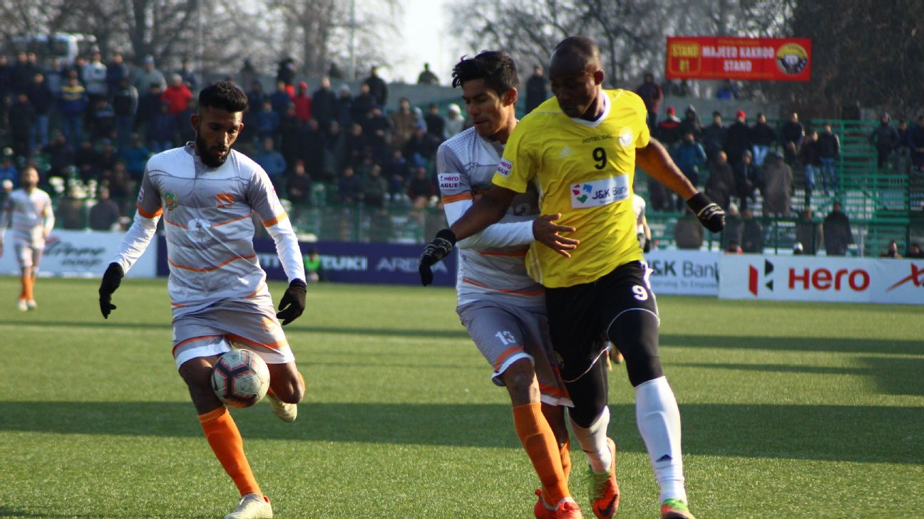 Of the eight clubs, Real Kashmir and Chennai City (pictured), as well as East Bengal are in contention for the I-League title.