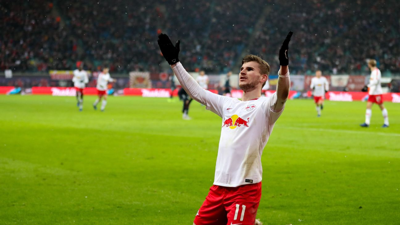 Timo Werner is one of the top young strikers in the game and is attracting interest from top clubs all over Europe.
