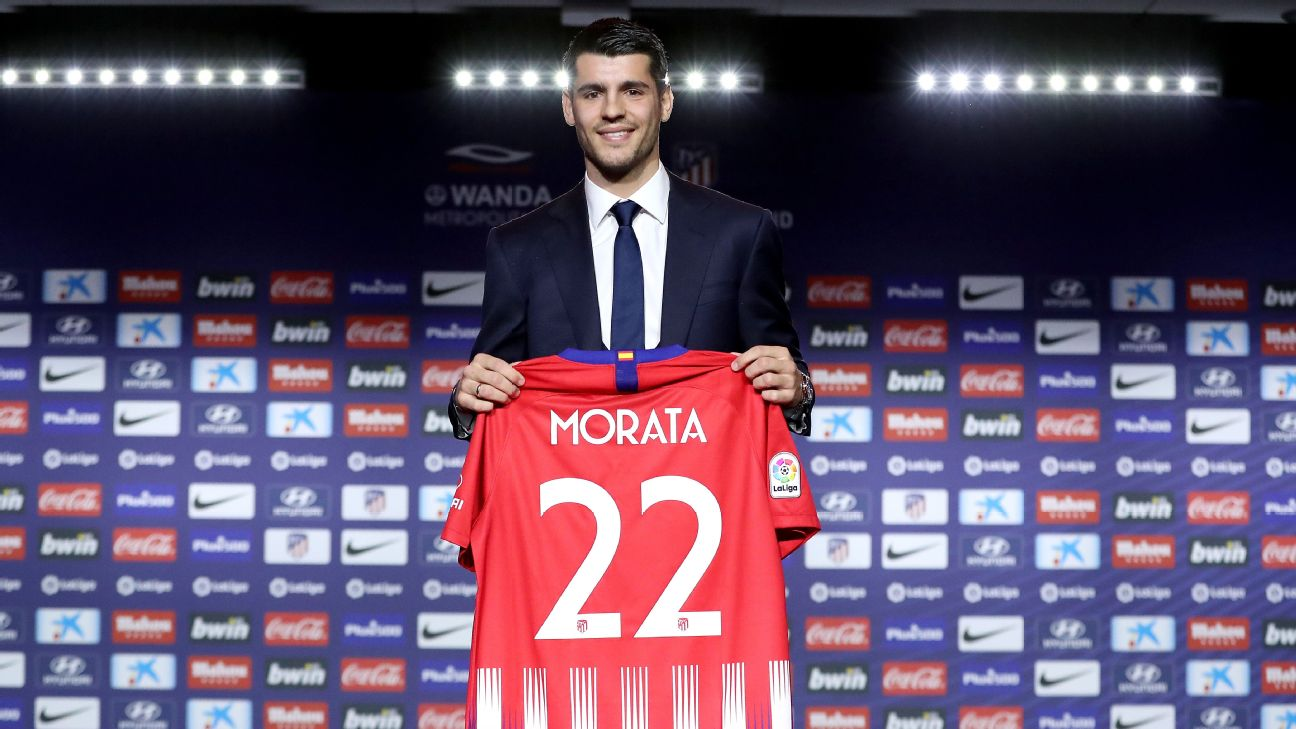 Morata: Choosing Atletico amid Barcelona, Bayern Munich links was  very easy