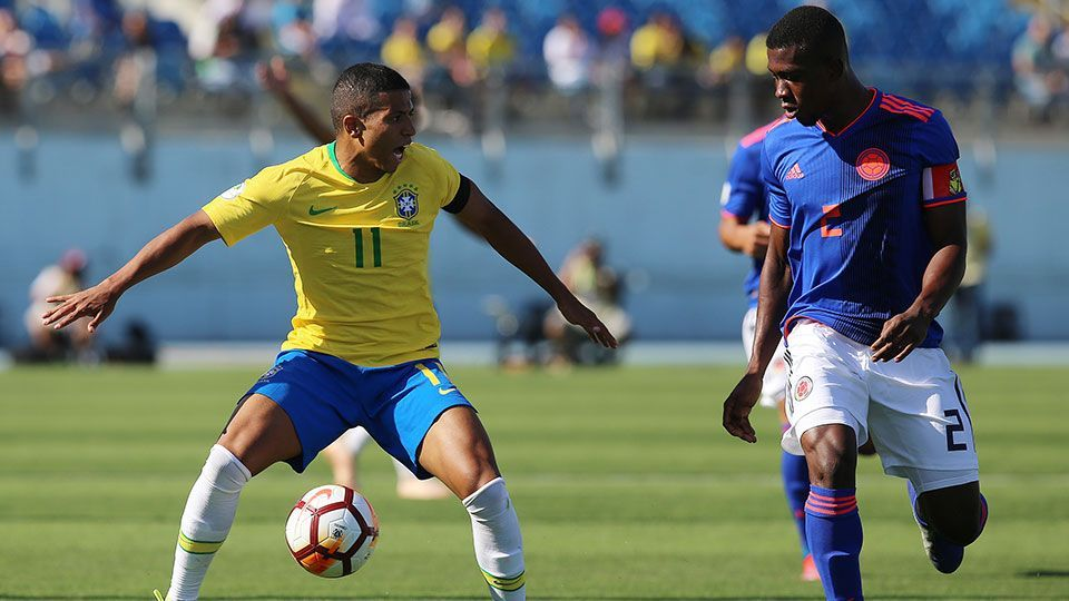 Brasil e Colômbia voltam a empatar sem gols pelo Sul-Americano sub-20 d558a64ebcd5b