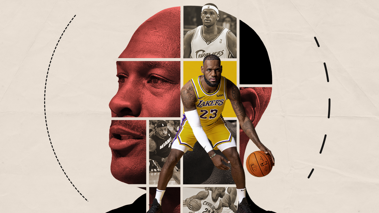The Comparison Between Lebron James And Michael Jordan In Their Own Words