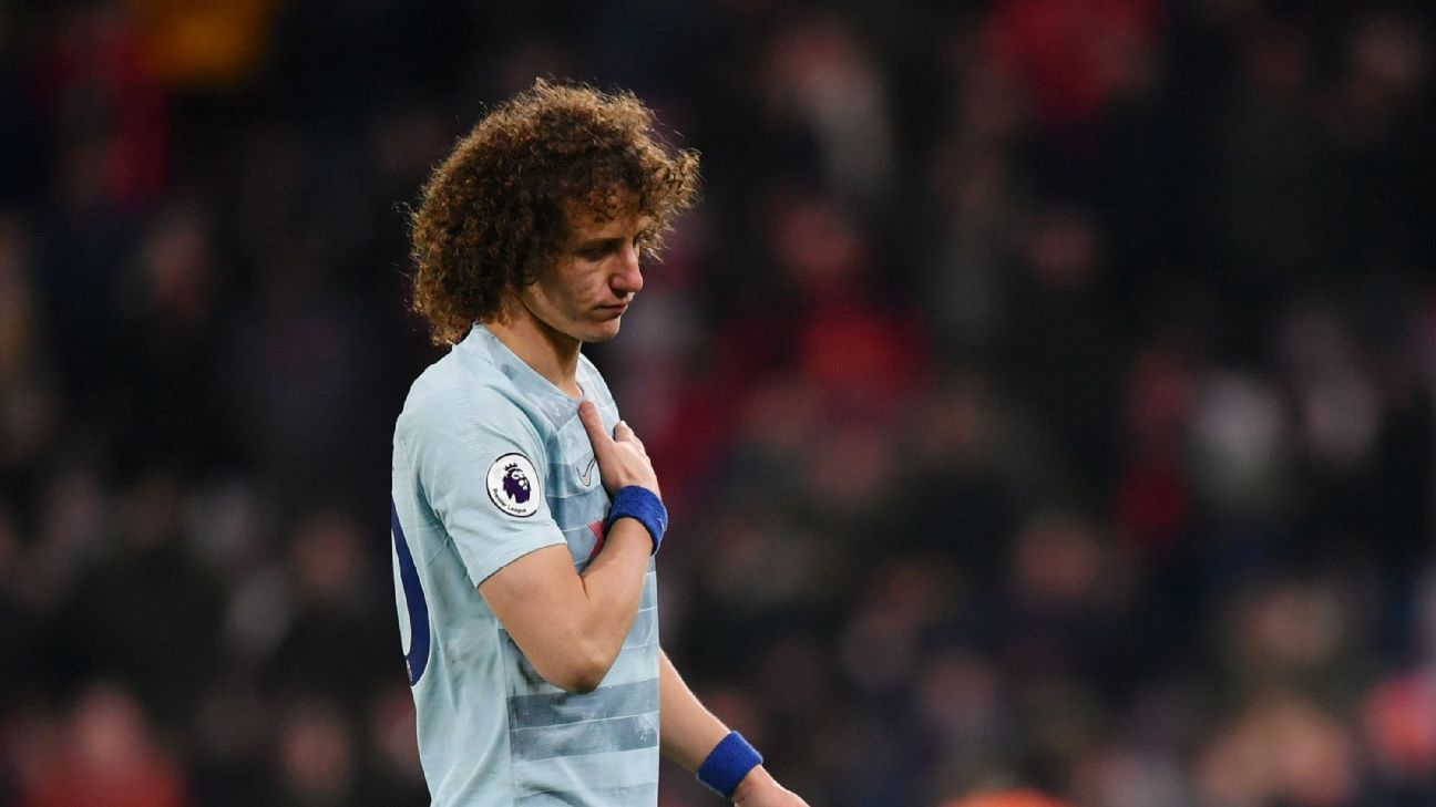 David Luiz was the worst of a bad bunch as his error for Bournemouth's second goal capped a frustrating night.