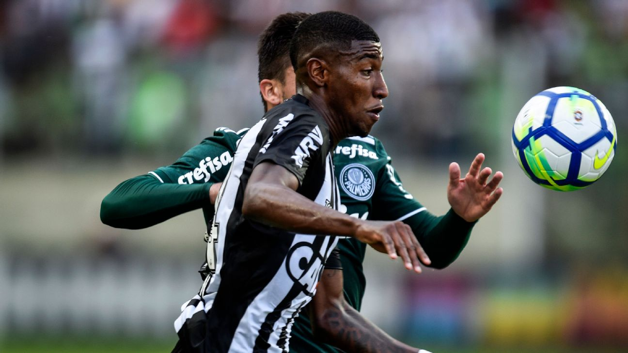 Emerson is leaving Atletico MG for Barcelona and will spend the rest of this season on loan at Real Betis.