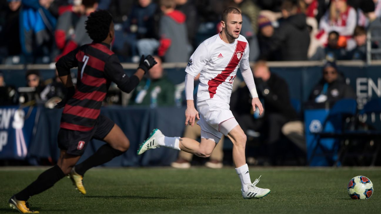 Former Indiana University player Andrew Gutman signed a contract with Celtic in January.