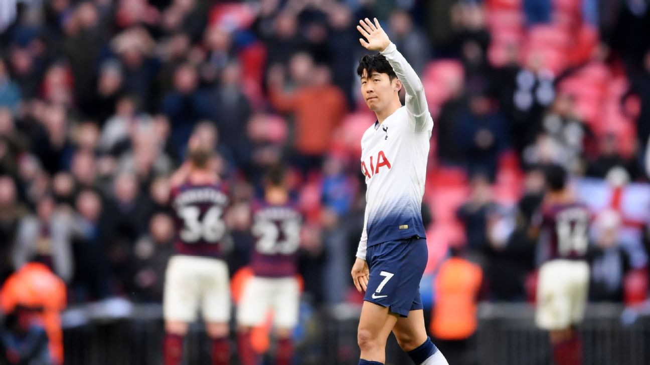 Son Heung-Min  Spurs showing  great character  after recent wins 672cbe747