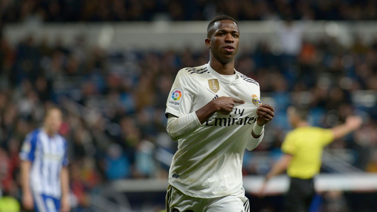 Vinicius Jr. 8/10 as Real rack up fourth straight win, thrashing Alaves