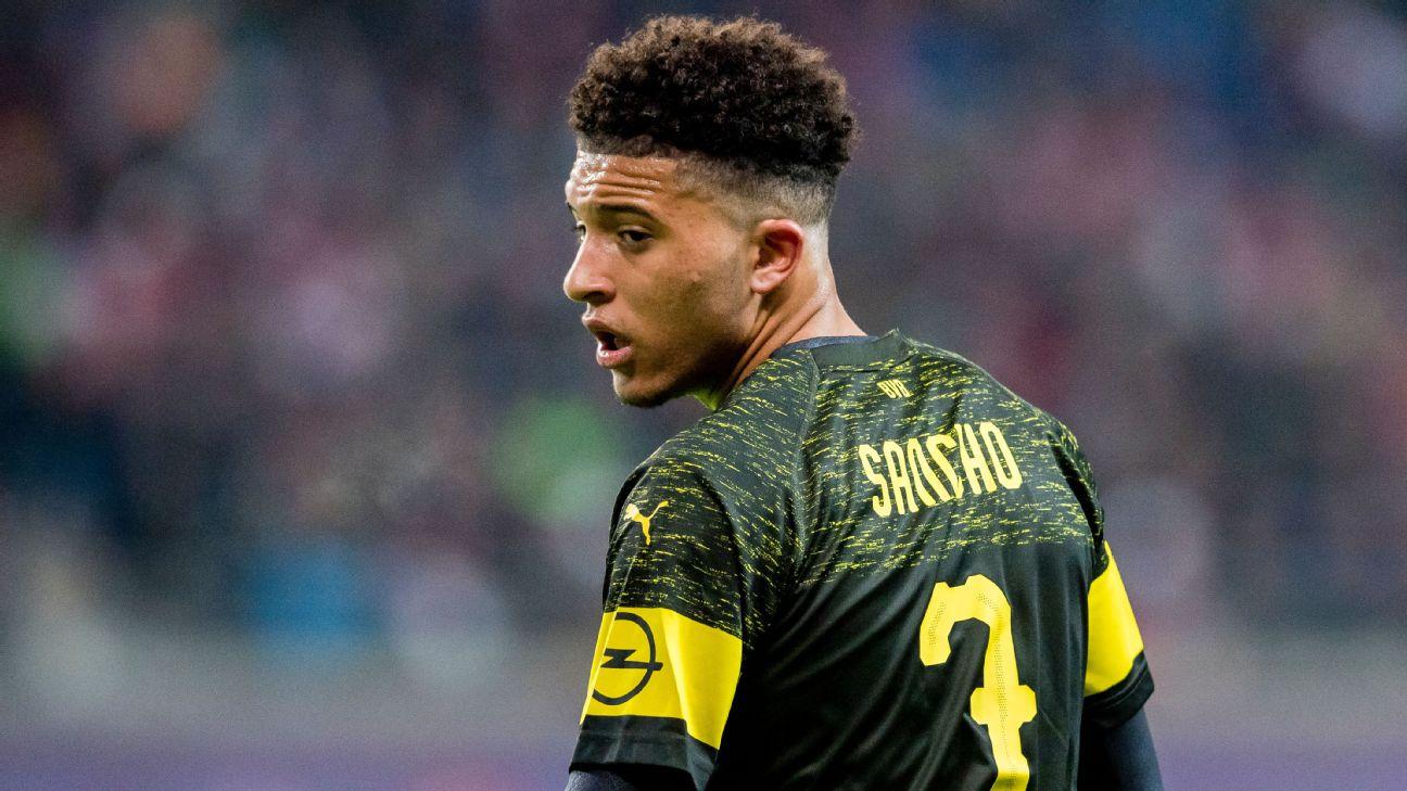Transfer Talk: Manchester United plan swoop for Dortmund starlet Jadon Sancho