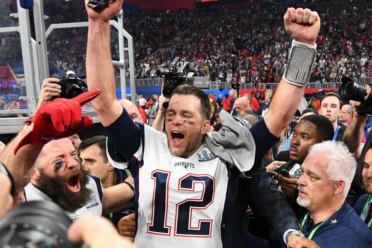 cf11c9b9 Tom Brady-Bill Belichick dynasty rolls on as Patriots win Super Bowl ...