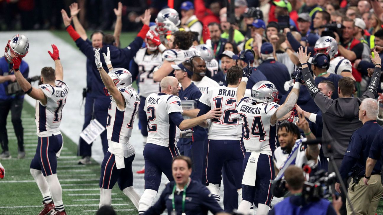 de892a558a6 Super Bowl LIII - It's time to appreciate this New England Patriots'  dynasty as the greatest in sports - 2018 NFL playoffs