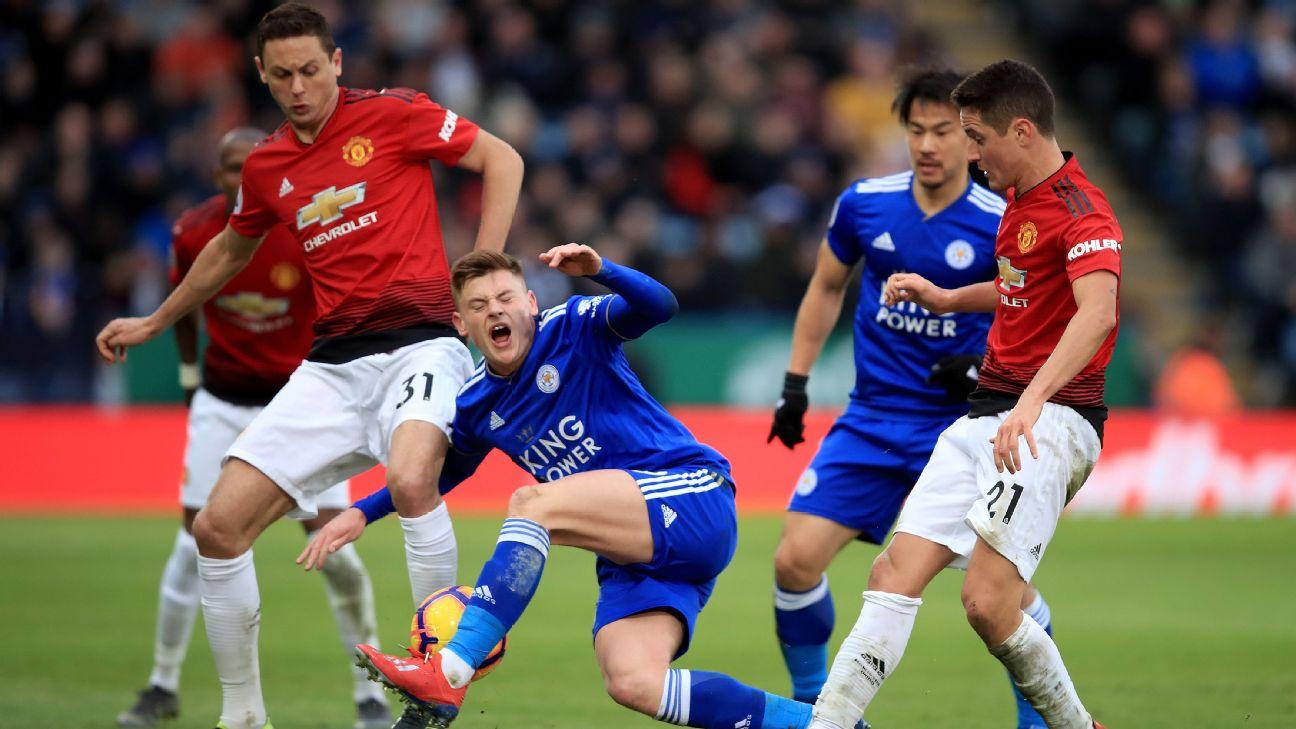 Man United s Nemanja Matic escapes ban for Harvey Barnes tackle - sources