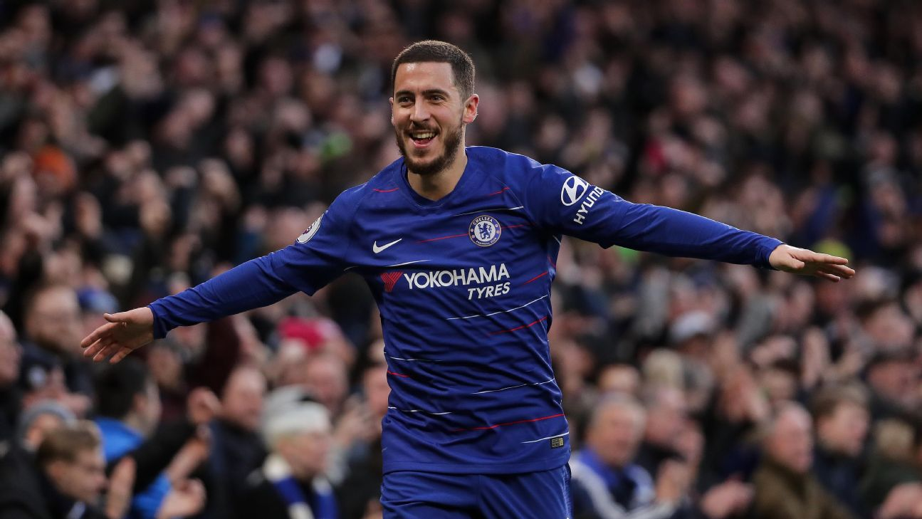 Real Madrid target Hazard: I have made decision over Chelsea future
