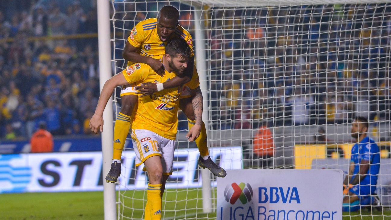 Enner Valencia and Andre-Pierre Gignac are among the high-profile -- and high-dollar -- players that have steered Tigres' golden age.
