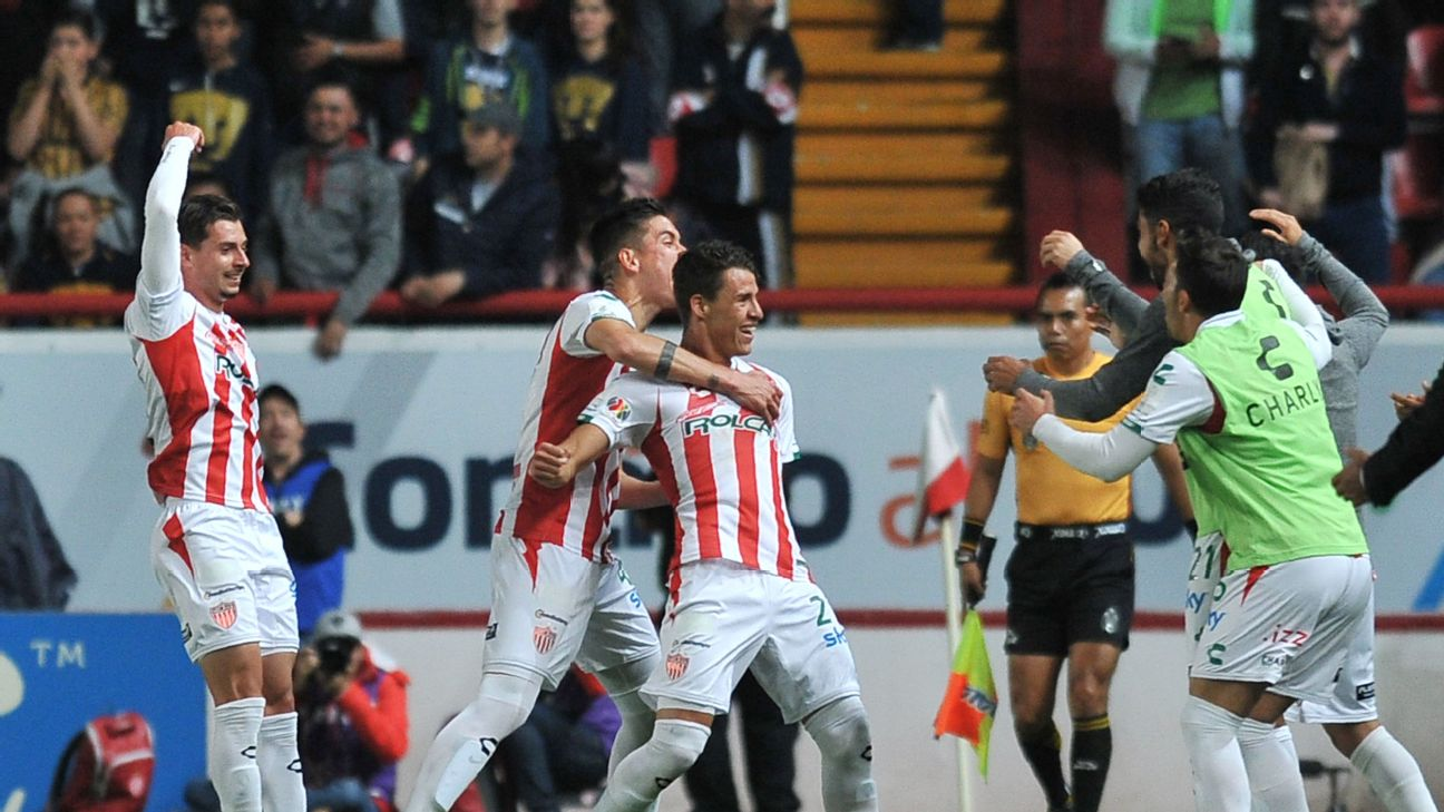 Along with Monterrey, upstart Necaxa remain one of the two unbeaten sides in all of Liga MX.