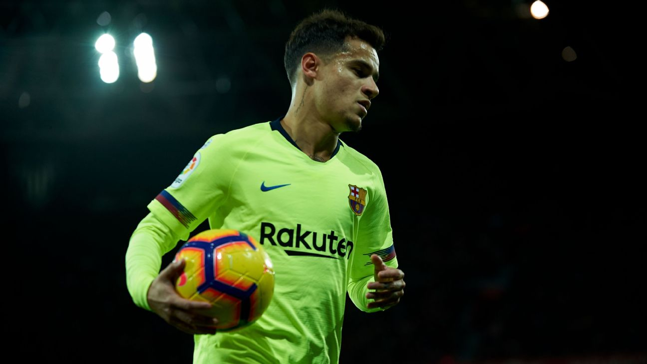 Philippe Coutinho has come in for some criticism following recent performances at Barcelona.
