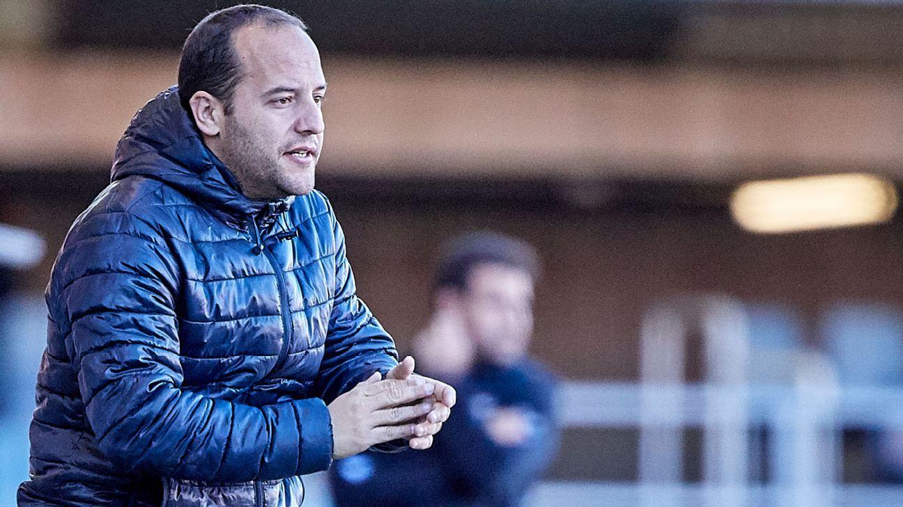 Lluis Cortes, Barcelona Women's manager