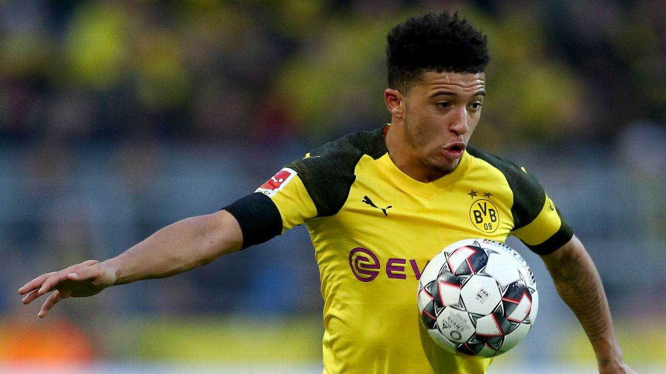 Jadon Sancho has become an important member of the Borussia Dortmund side this season