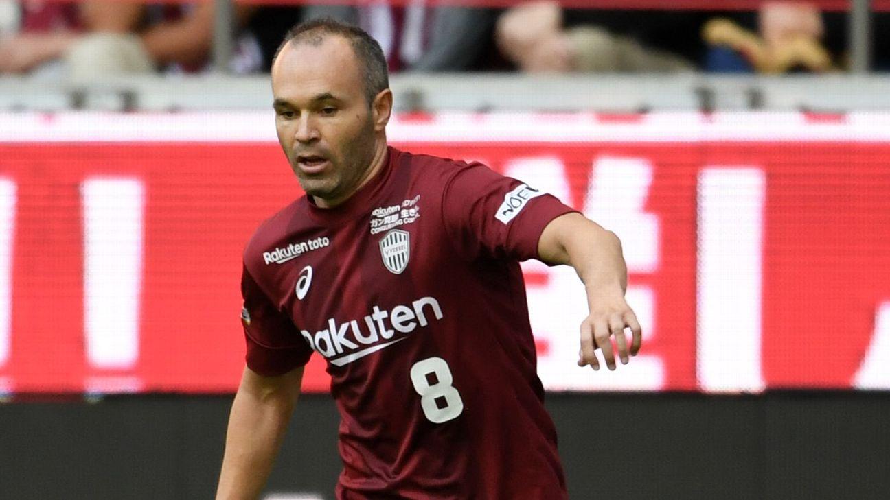 Andres Iniesta  of Vissel Kobe