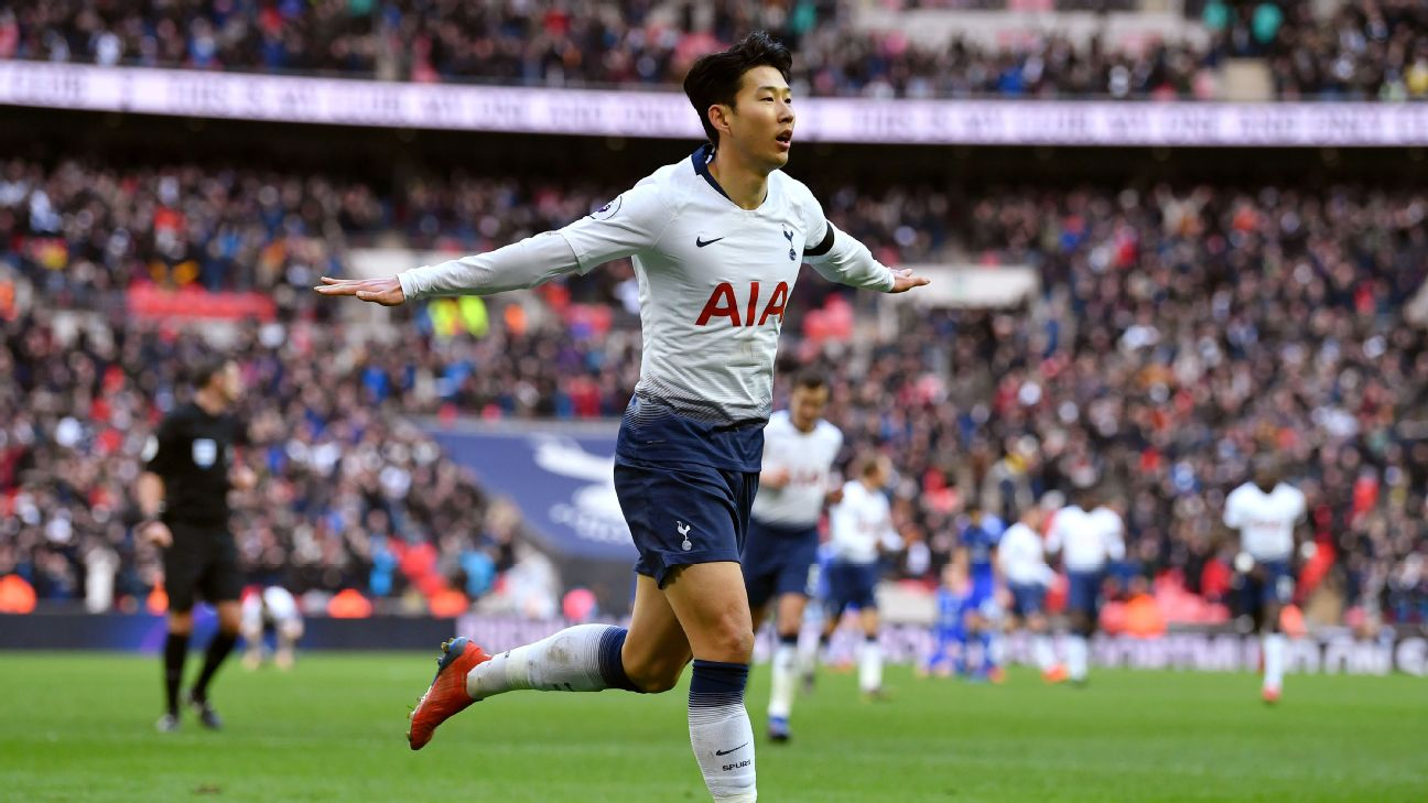 Son Heung-min has almost single-handedly kept Tottenham afloat with Harry Kane out injured.