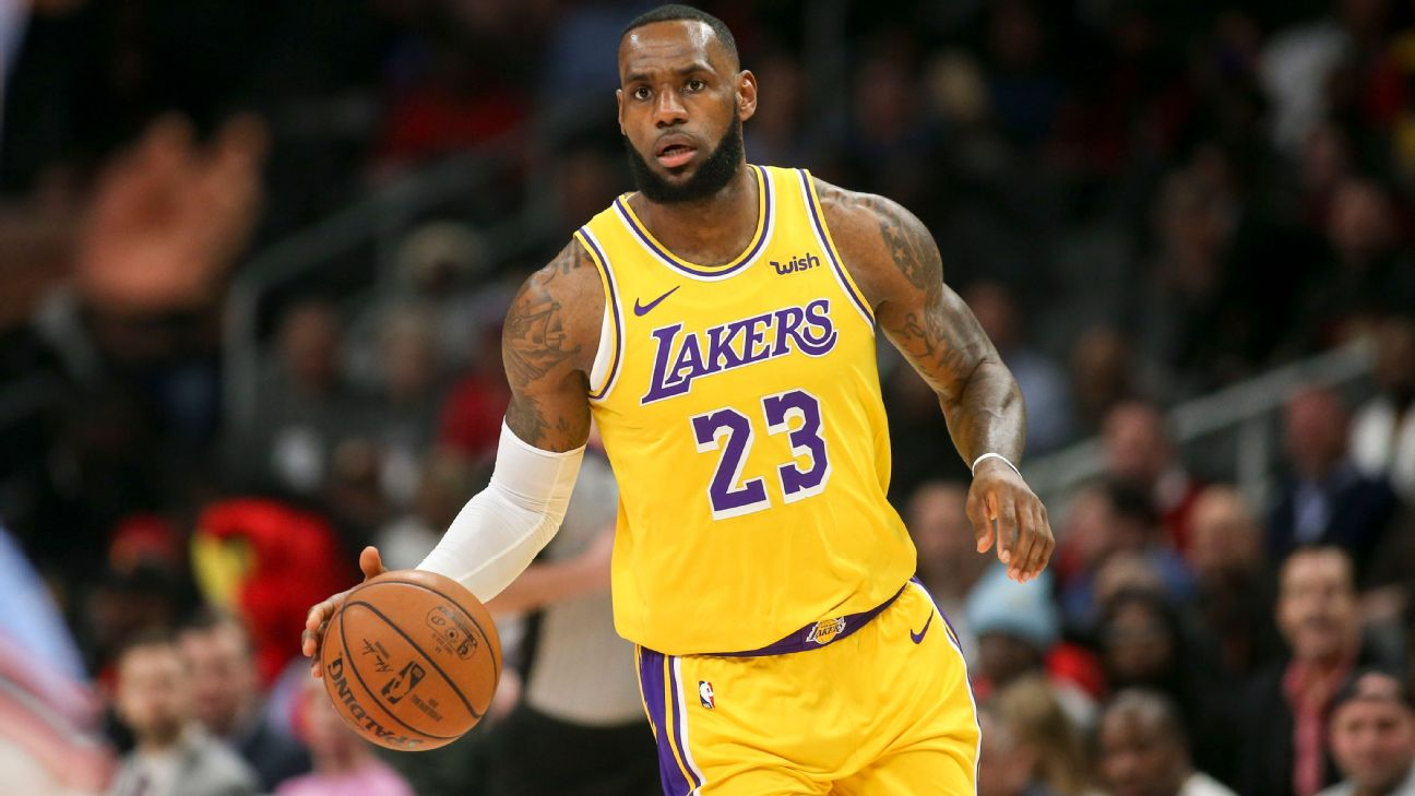 f44aa079f1b9 LeBron James hopes Lakers use All-Star break to  decompress