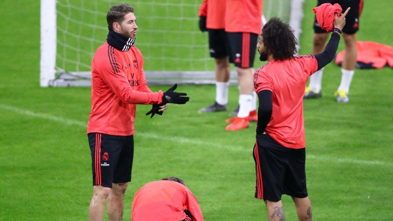 Marcelo and Sergio Ramos