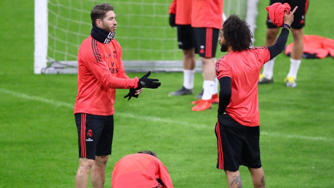 Marcelo and Sergio Ramos