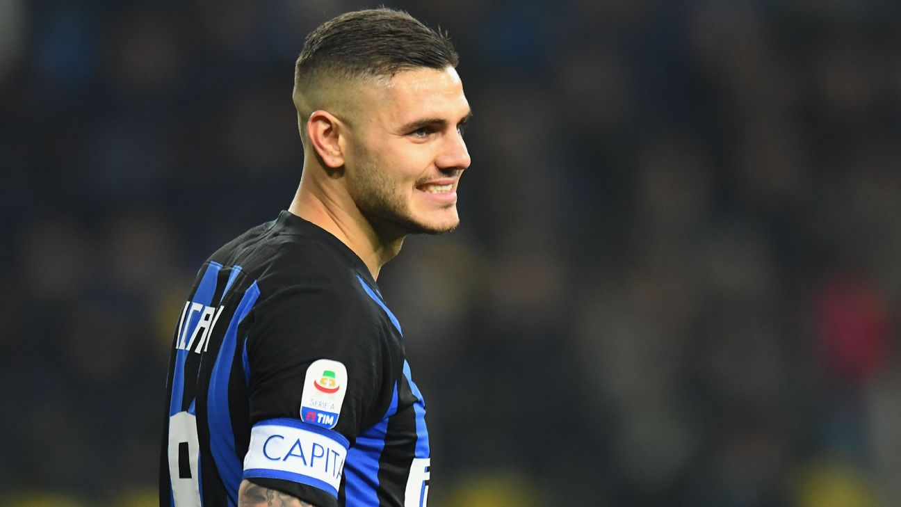 Inter Milan forward Mauro Icardi has been stripped of the captaincy and left out of the squad for the trip to Rapid Vienna
