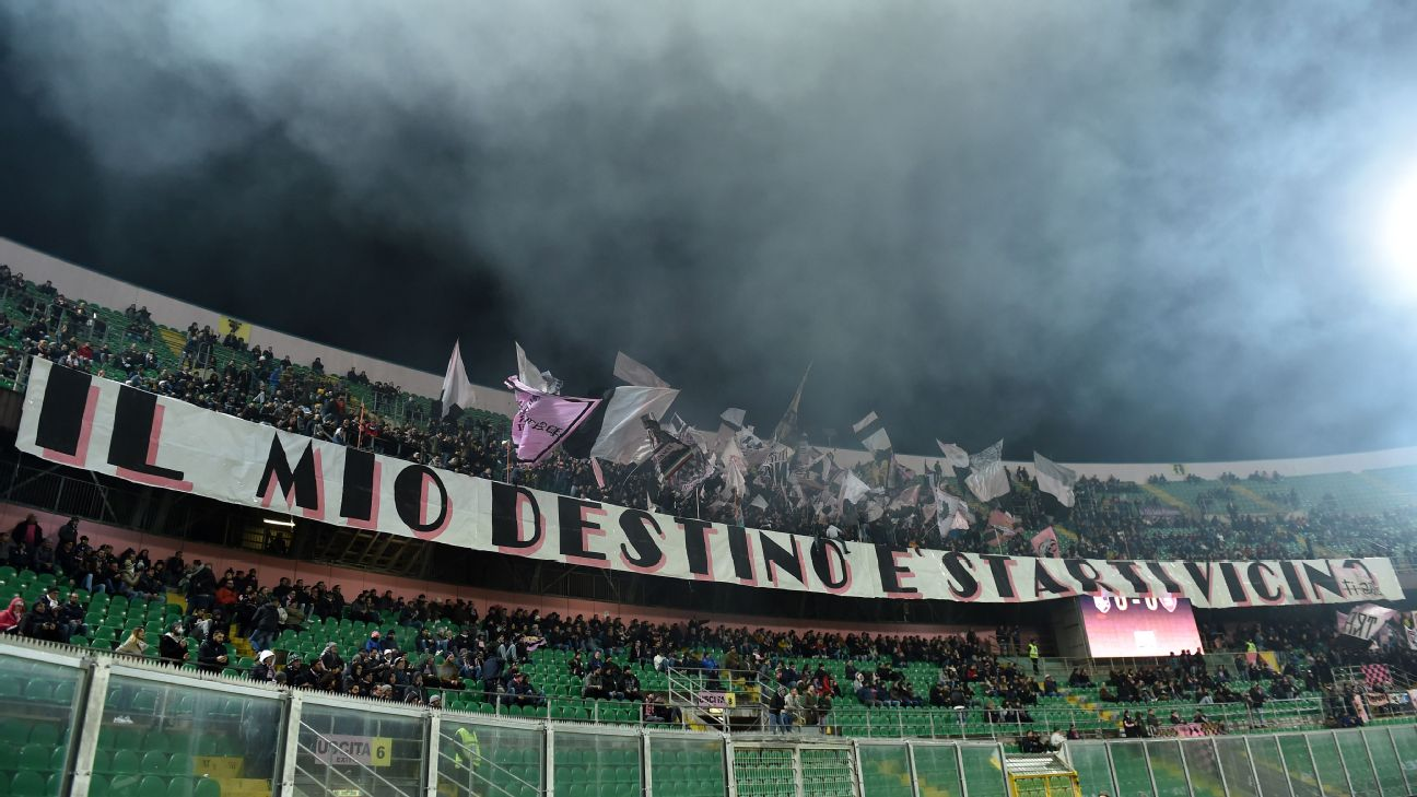 Palermo fans