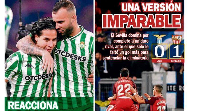 Diarios españoles destacan la actuación de Diego Lainez 2f3bf0844a01a