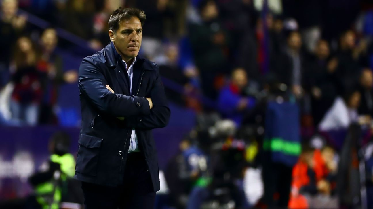 Head coach of Athletic club de Bilbao Eduardo Berizzo