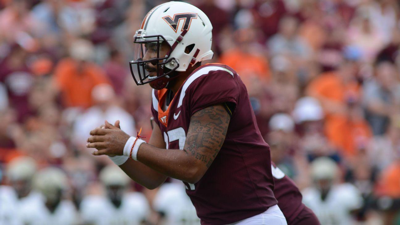 Former Virginia Tech Qb Josh Jackson Transferring To Maryland
