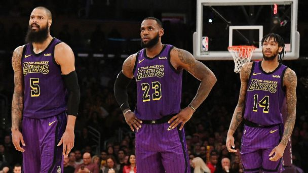 reputable site 25e8a 98b52 LeBron and the Lakers