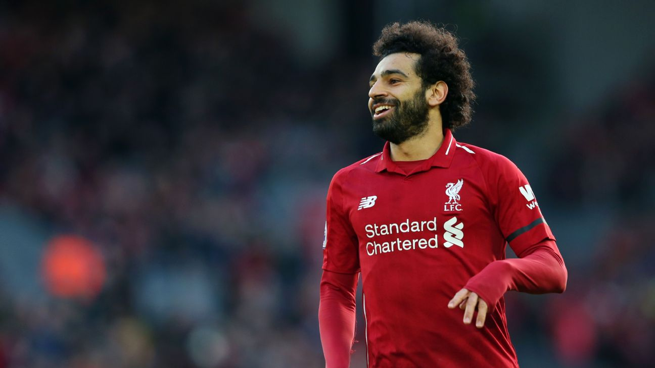Mohamed Salah is closer than ever to winning the Premier League -- something he has dreamed of since joining Liverpool.