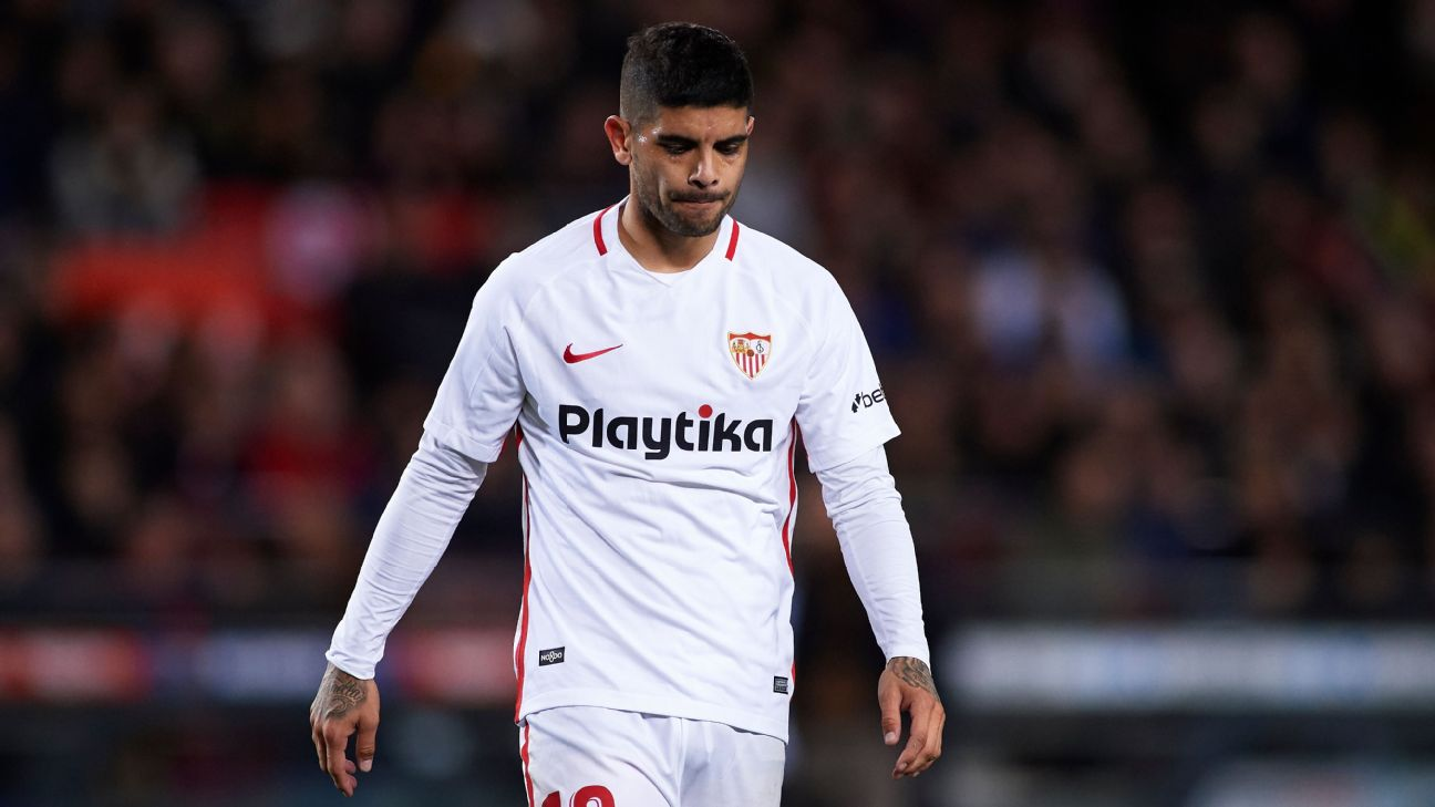 Sevilla have been struggling of late, having won only one of their past eight league games.