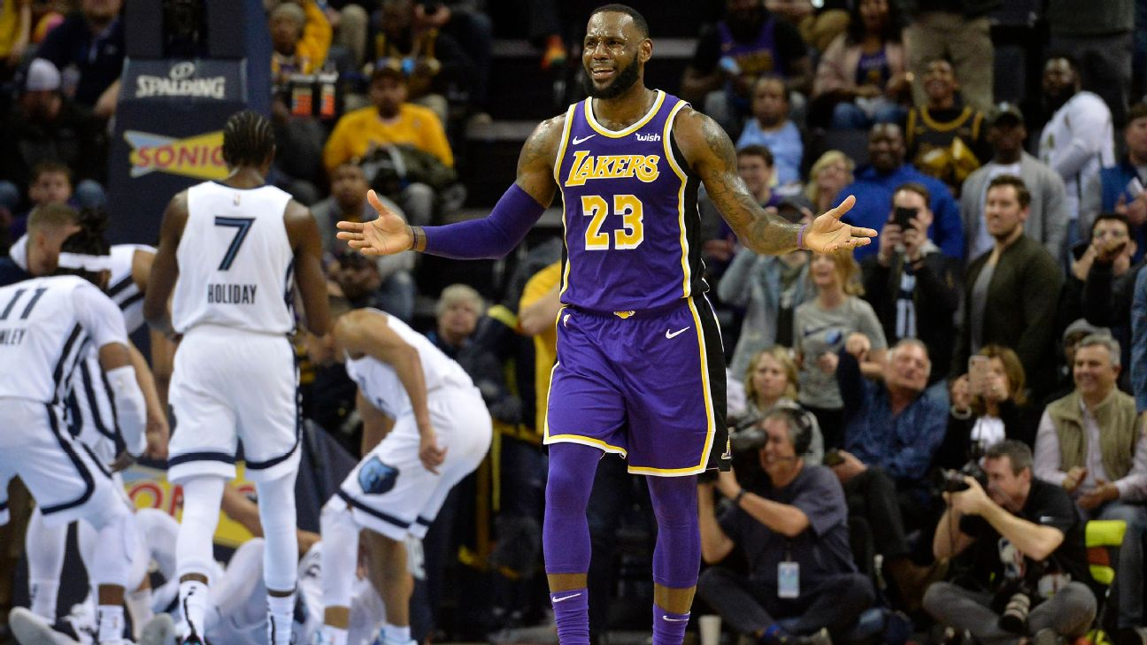 ebc3351f42b LeBron James says Lakers  wrong franchise  for distracted players ...