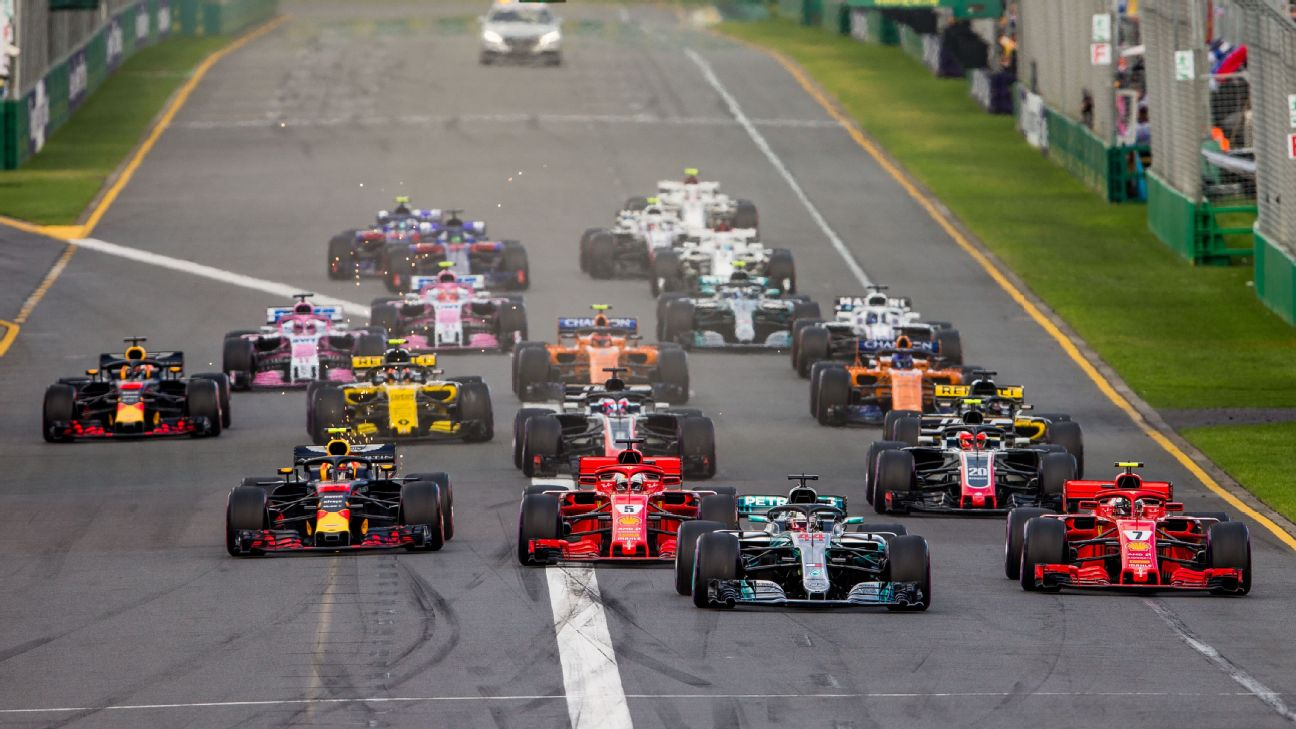 picture relating to Printable Olympic Tv Schedule titled ESPN F1 Television broadcast routine for 2019