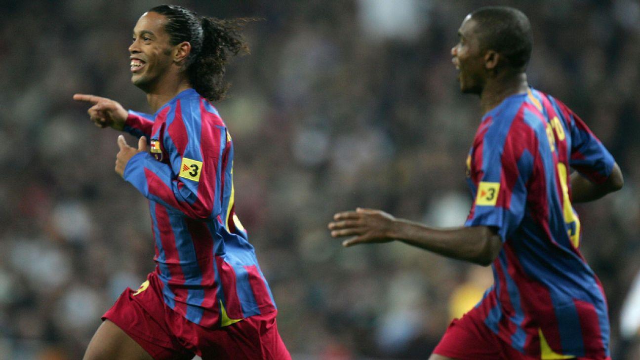 Real Madrid X Barcelona O Dia Em Que Ronaldinho Fez O Santiago Bernabeu Aplaudi Lo De Pe