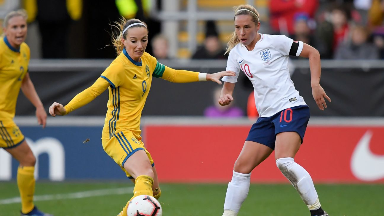 Jordan Nobbs will be included in the squad for the SheBelievesCup despite being ruled out through injury