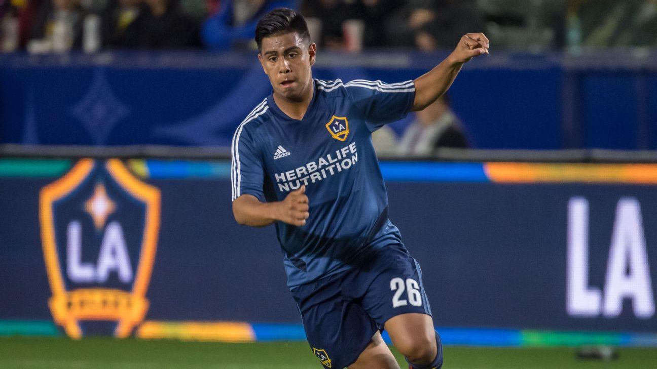 Efrain Alvarez, 16, helps rally LA Galaxy to win in MLS debut