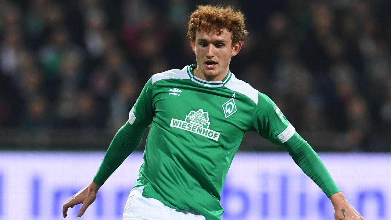 Werder Bremen's Josh Sargent