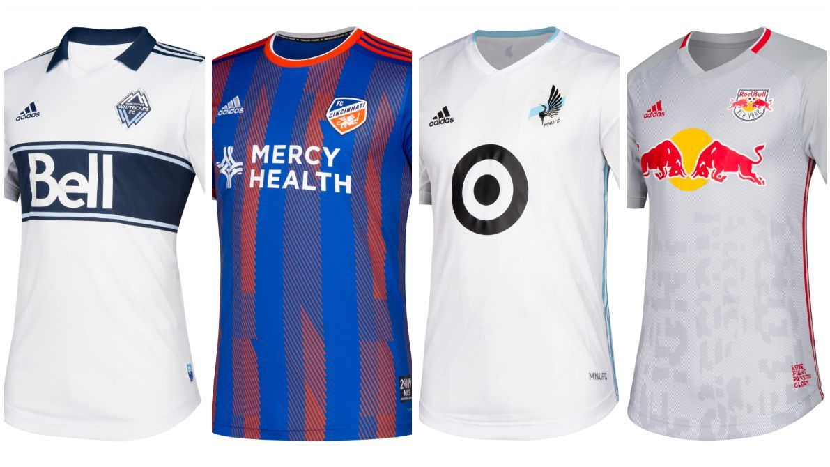 MLS kits collage