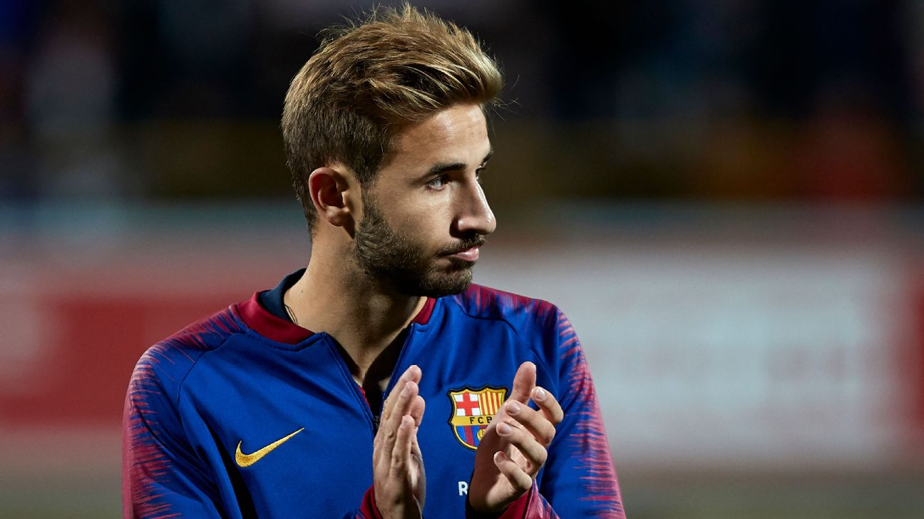 Sergi Samper, Barcelona applause