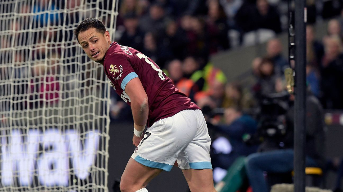 Javier Hernandez has strung together a few strong performances in a row for West Ham and is finally earning Manuel Pellegrini's trust.